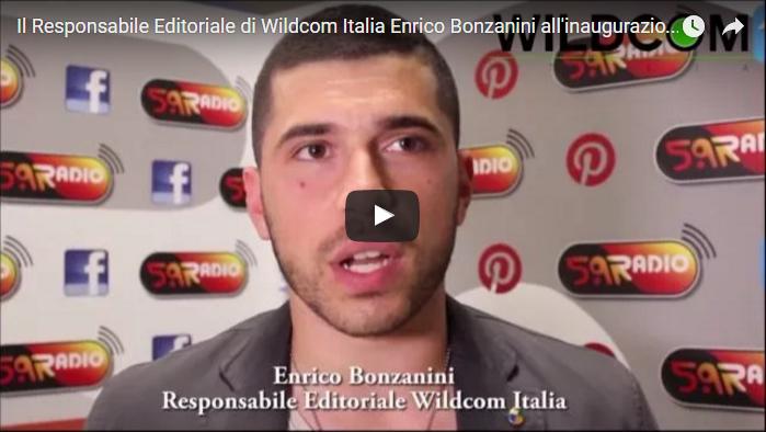 Enrico Bonzanini Wildcom Italia Responsabile Editoriale Inaugurazione Web Radio 5.9