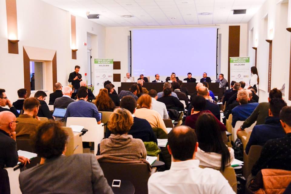 Corso Cyber Security in Azienda Wildcom Italia Mantova 27 novembre 2017